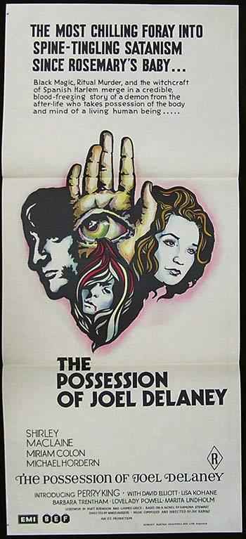THE POSSESSION OF JOE DELANEY Daybill Movie Poster Perry King Horror