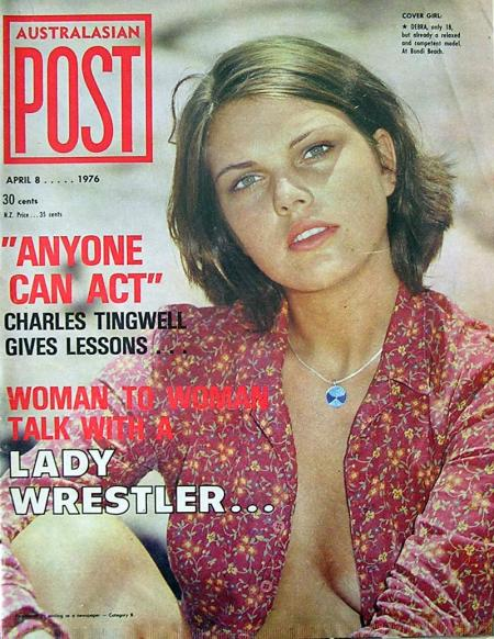 Australasian Post Magazine April 8 1976 Charles Tingwell gives Acting Lessons