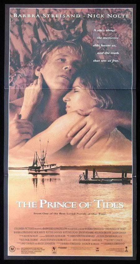 THE PRINCE OF TIDES Original Daybill Movie Poster Barbra Streisand Nick Nolte