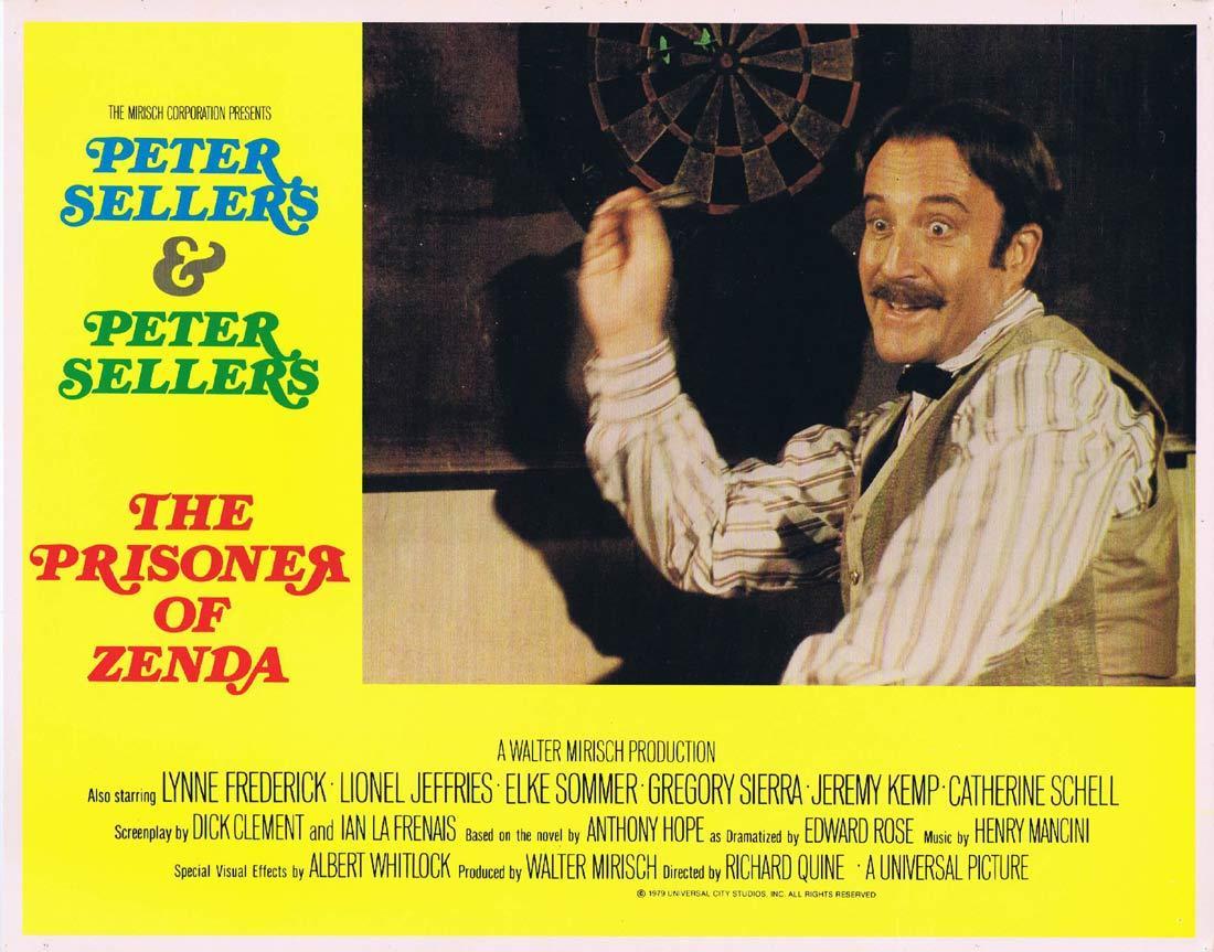THE PRISONER OF ZENDA Original Lobby Card 4 Peter Sellers Lionel Jeffries