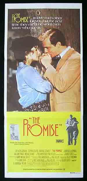 THE PROMISE Original Daybill Movie poster Kathleen Quinlan Stephen Collins