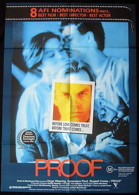 PROOF Hugo Weaving Country of Origin ONE SHEET Movie Poster