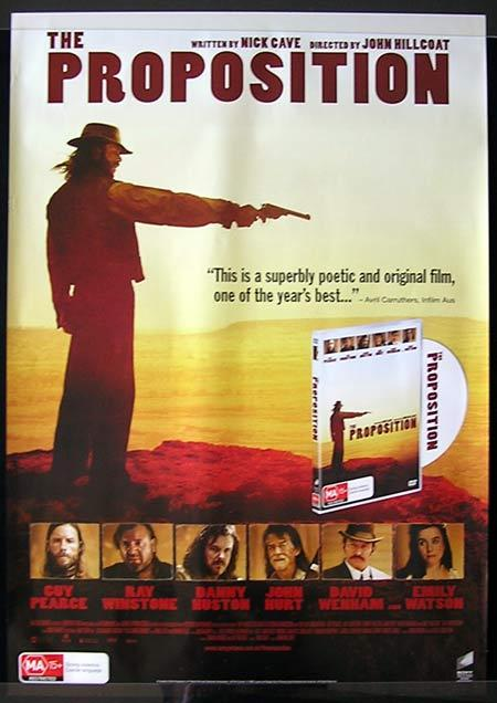 THE PROPOSITION Movie Poster 2006 Guy Pearce Australian one sheet