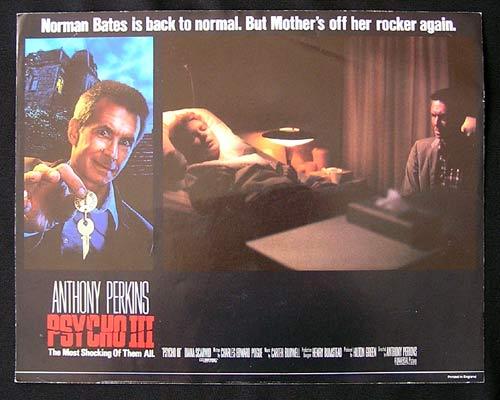 PSYCHO 3 Perkins as Norman Bates Lobby Card 3