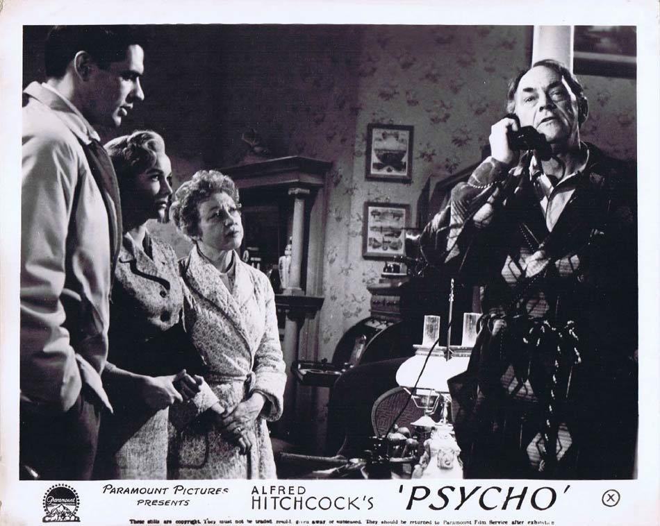 PSYCHO Front of House Movie Still 2 Alfred Hitchcock Vera Miles