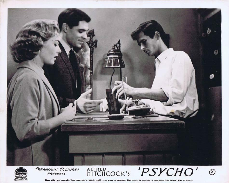 PSYCHO Front of House Movie Still 3 Alfred Hitchcock Anthony Perkins