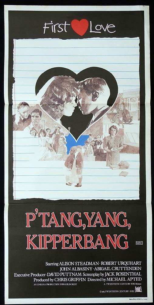 P'TANG YANG KIPPERBANG Original Daybill Movie poster John Albasiny Maurice Dee
