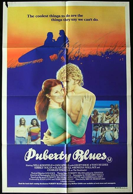 PUBERTY BLUES '81 Surfing Chicks BERESFORD Australian One sheet Movie poster