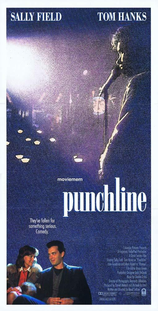PUNCHLINE Original Daybill Movie poster TOM HANKS Sally Field John Goodman