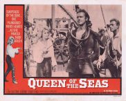 QUEEN OF THE SEAS Lobby Card 2 Lisa Gastoni Jerome Courtland