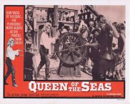 QUEEN OF THE SEAS Lobby Card 4 Lisa Gastoni Jerome Courtland