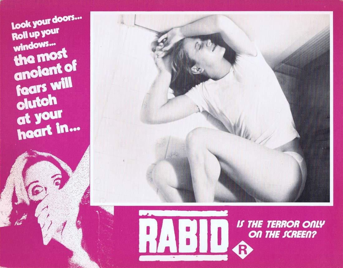 RABID Original Lobby Card 2 Marilyn Chambers David Cronenberg