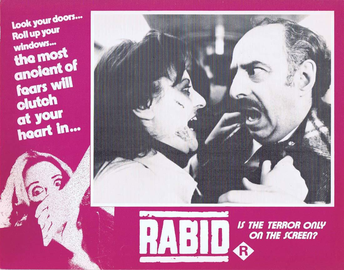 RABID Original Lobby Card 3 Marilyn Chambers David Cronenberg
