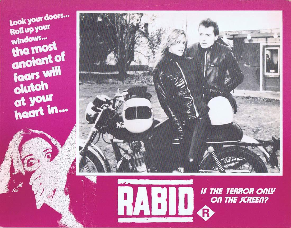 RABID Original Lobby Card 4 Marilyn Chambers David Cronenberg