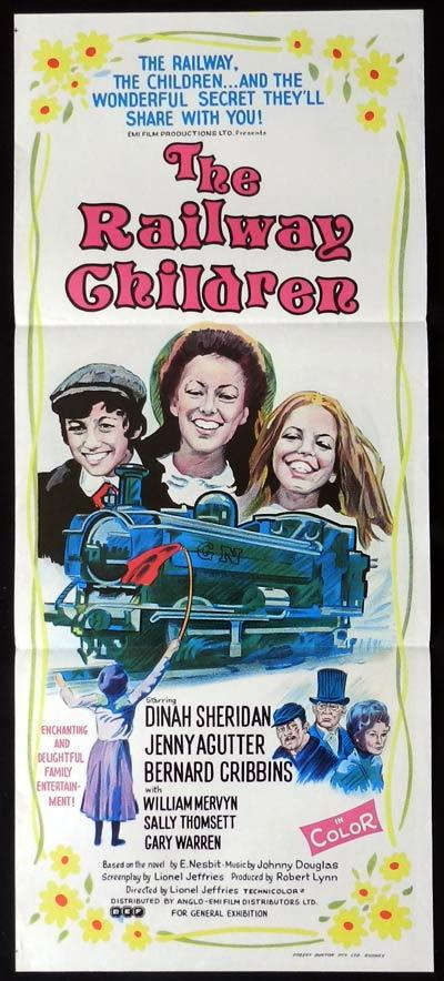 THE RAILWAY CHILDREN Original Daybill Movie Poster Jenny Agutter