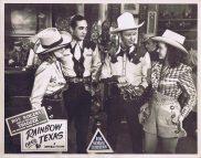 RAINBOW OVER TEXAS Lobby card 8 Roy Rogers Dale Evans