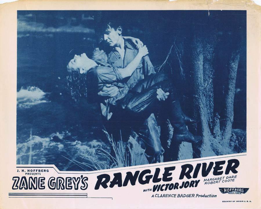 RANGLE RIVER Lobby Card 1 Zane Grey Charles Chauvel