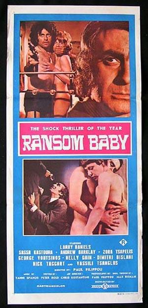RANSOM BABY-Oi Apanthropoi Sick Killers GREEK SEXPLOITATION poster