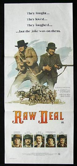 RAW DEAL Daybill Movie Poster Gerard Kennedy
