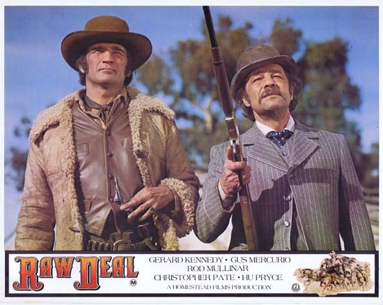 RAW DEAL 1977 Lobby Card 3 Australian Film Gus Mercurio