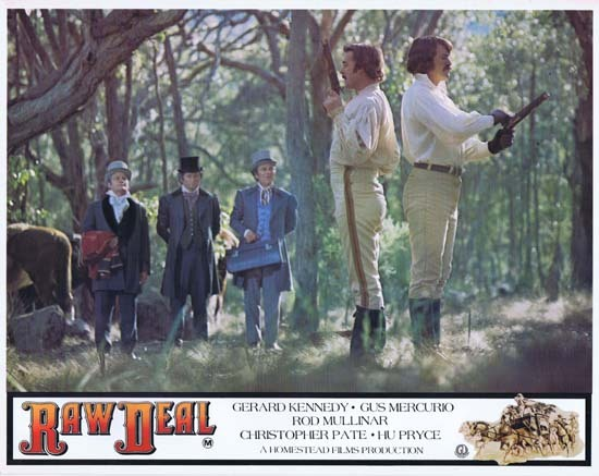 RAW DEAL 1977 Lobby Card 6 Australian Film The Duel