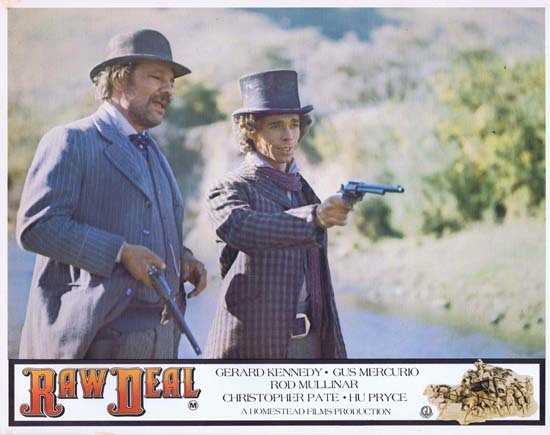 RAW DEAL 1977 Lobby Card 7 Australian Film Gus Mercurio