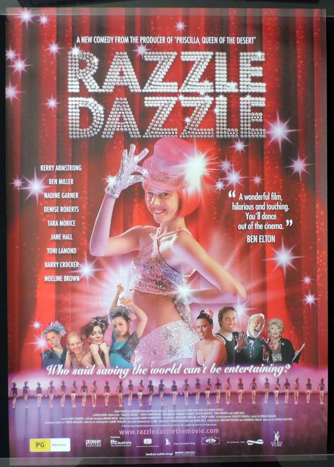 RAZZLE DAZZLE Australian 1 sheet Movie poster
