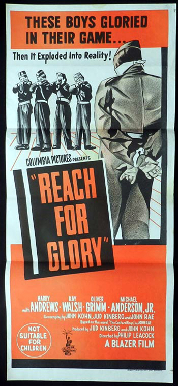 REACH FOR GLORY Harry Andrews RARE Daybill Movie poster Firing Squad