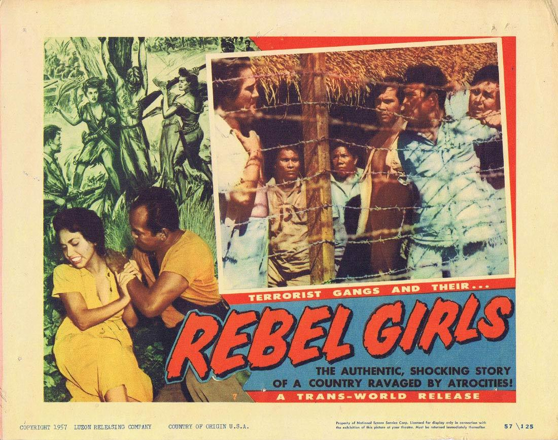 REBEL GIRLS Lobby Card 7 Terrorist Gangs Cuba