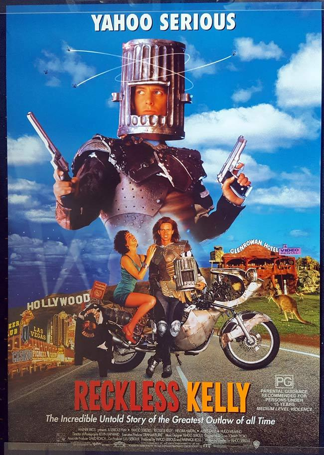 RECKLESS KELLY Australian One Sheet Movie Poster ROLLED Yahoo Serious