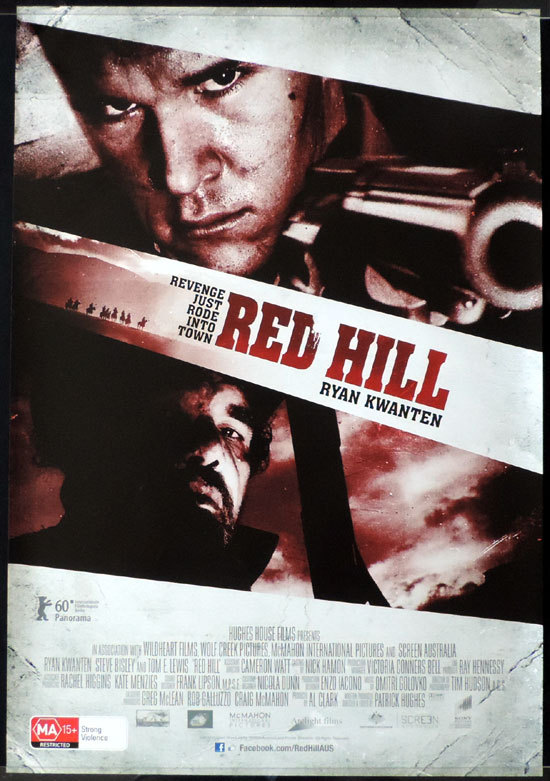 RED HILL Movie poster Ryan Kwanten Australian Cinema One sheet