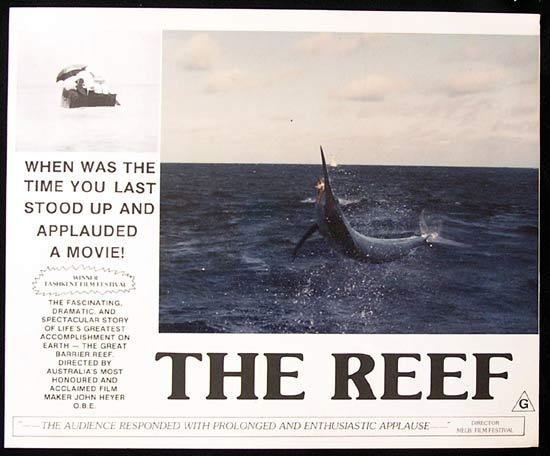 THE REEF 1977 John Heyer Documentary GREAT BARRIER REEF Lobby Card 2