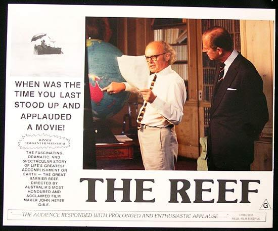 THE REEF 1977 John Heyer Documentary GREAT BARRIER REEF Lobby Card 3