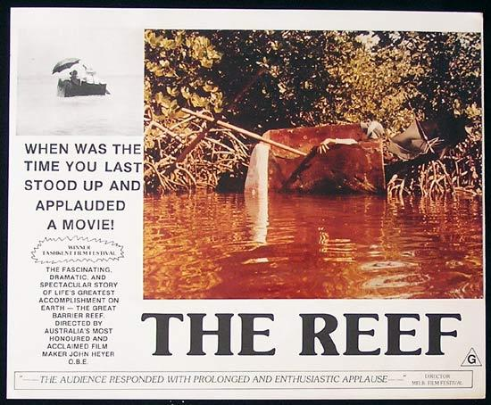 THE REEF 1977 John Heyer Documentary GREAT BARRIER REEF Lobby Card 5