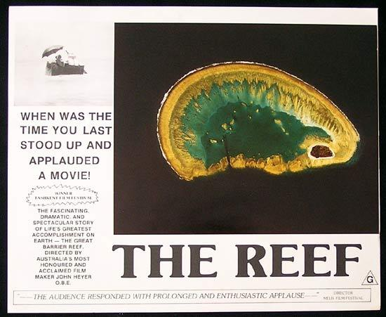 THE REEF 1977 John Heyer Documentary GREAT BARRIER REEF Lobby Card 6