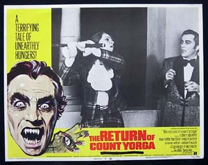 RETURN OF COUNT YORGA, The '71-Robert Quarry-US Lobby Card #3