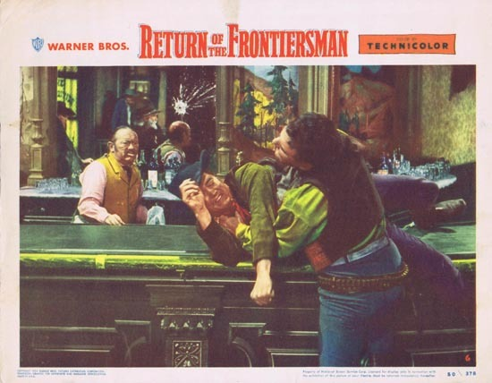 RETURN OF THE FRONTIERSMAN Lobby Card 6 1950 Gordon MacRae