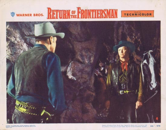 RETURN OF THE FRONTIERSMAN Lobby Card 8 1950 Gordon MacRae