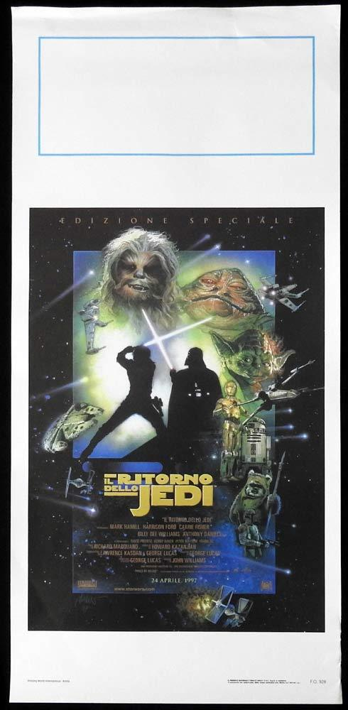 RETURN OF THE JEDI SPECIAL EDITION 1997 Original Locandina Movie Poster