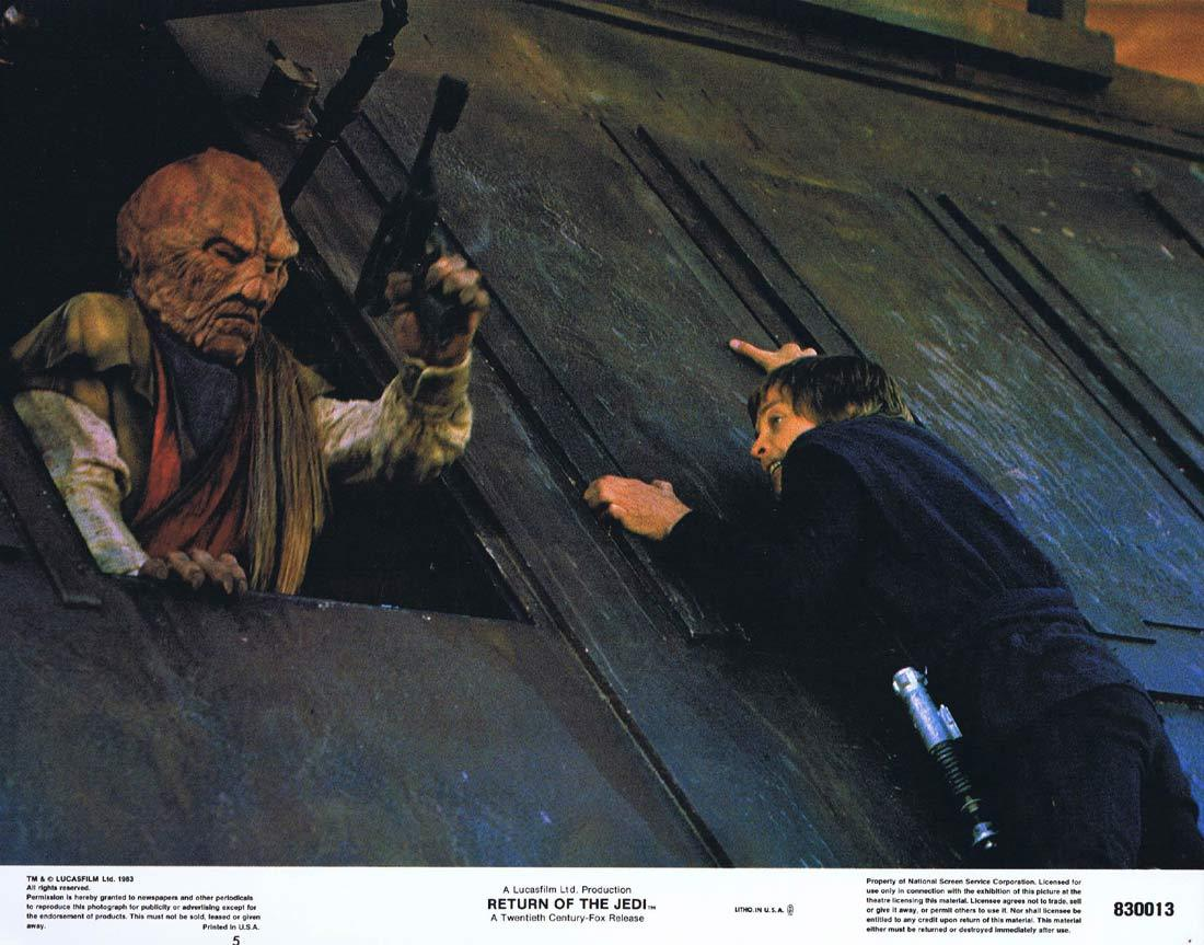 RETURN OF THE JEDI Lobby Card 5 1983 Star Wars
