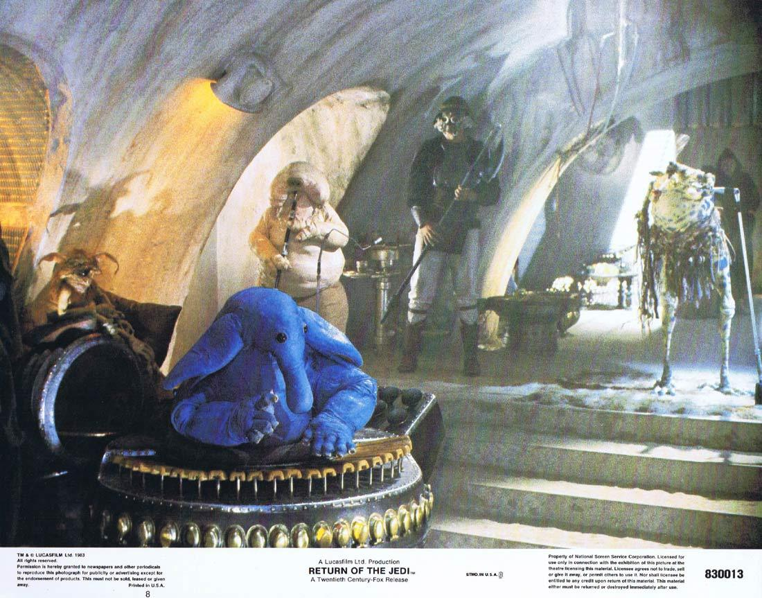 RETURN OF THE JEDI Lobby Card 8 1983 Star Wars