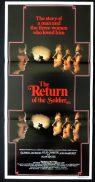 RETURN OF THE SOLDIER daybill Movie poster Ann-Margret Alan Bates Julie Christie Glenda Jackson