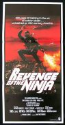 REVENGE OF THE NINJA Original Daybill Movie Poster Sho Kosugi Martial Arts