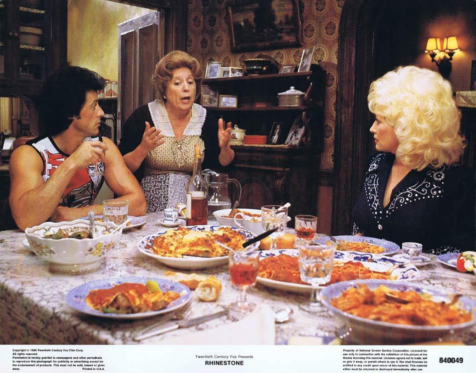 RHINESTONE Lobby Card 2 Dolly Parton Sylvester Stallone