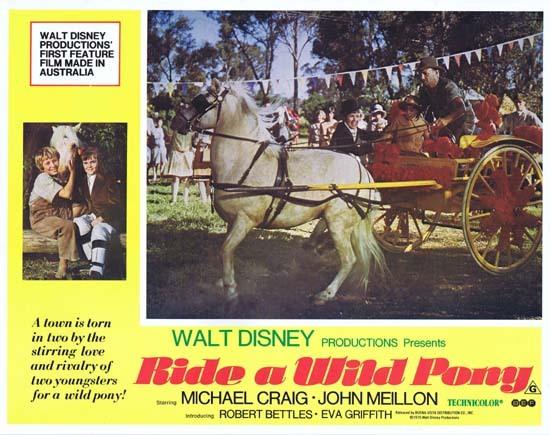 RIDE A WILD PONY 1975 Australian Lobby Card 6 Michael Craig