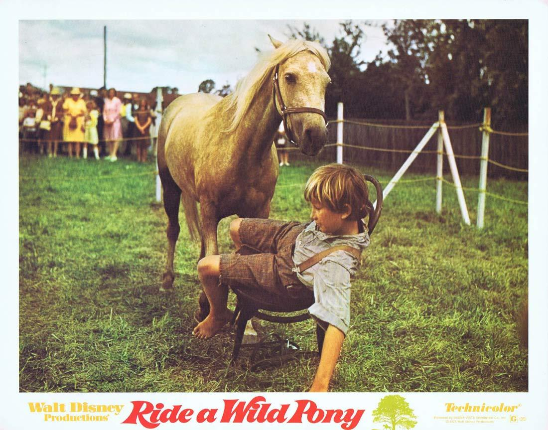 RIDE A WILD PONY Original Lobby Card 1 Michael Craig