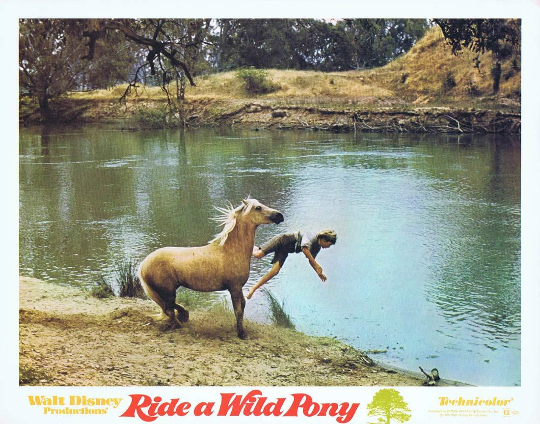 RIDE A WILD PONY Original Lobby Card 2 Michael Craig