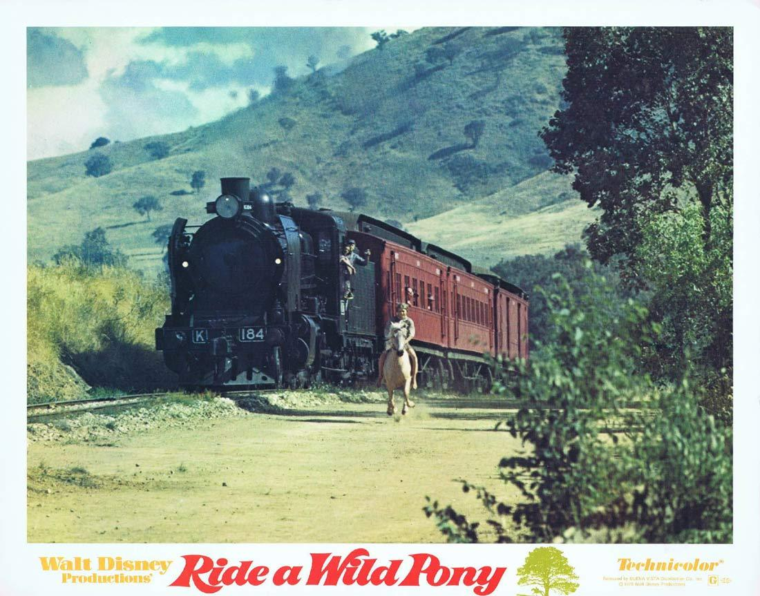 RIDE A WILD PONY Original Lobby Card 3 Michael Craig