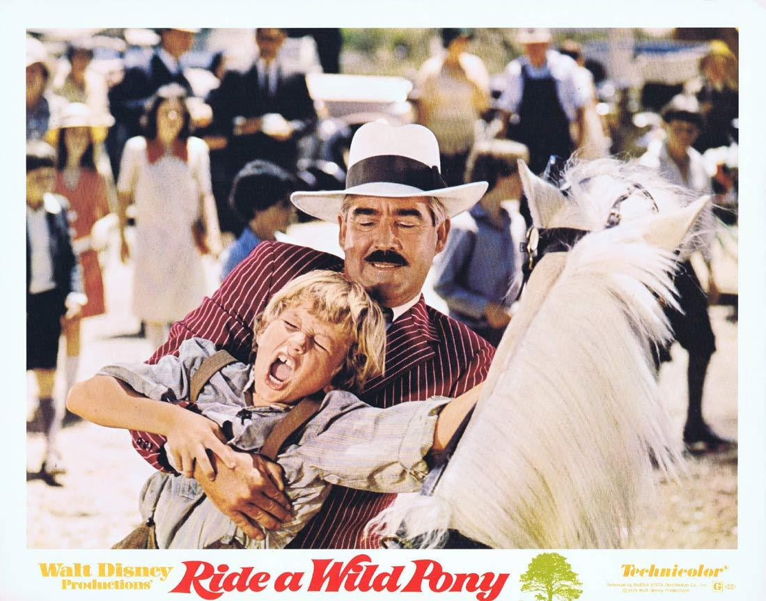 RIDE A WILD PONY Original Lobby Card 4 Michael Craig