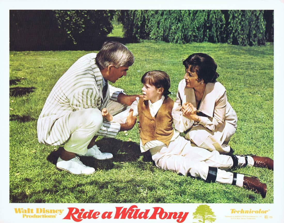 RIDE A WILD PONY Original Lobby Card 5 Michael Craig